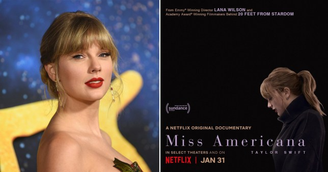 Taylor Swift Miss Americana Netflix documentary
