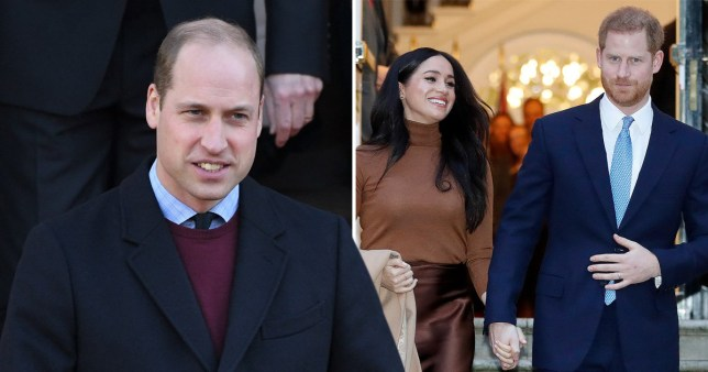 William speaks about dealing with challenges' amid Megxit crisis (Picture: Getty)