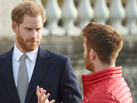 Prince Harry breaks cover for first time since saying he's quitting