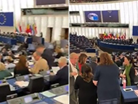 British MEPs take their seats for the last time with Brexit just two weeks away