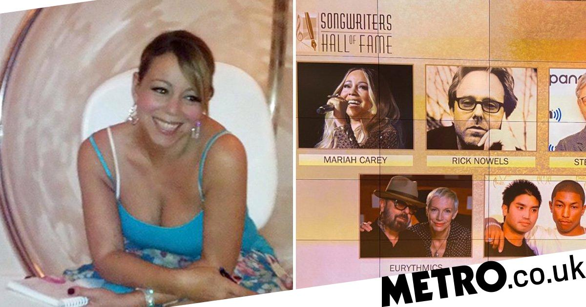 Mariah Carey 'proud and humbled' to be inducted into Songwriters Hall of Fame