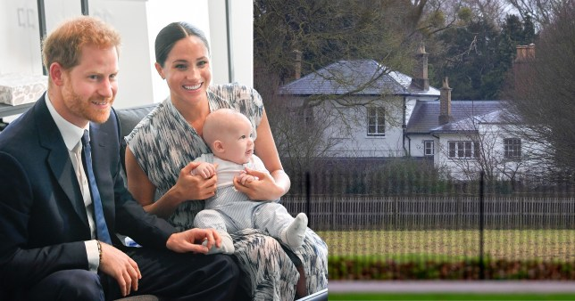Meghan Markle, Prince Harry and baby Archie and Frogmore Cottage