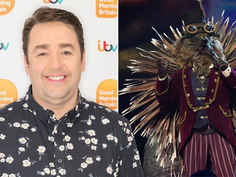 Jason Manford was asked by his kids if he was the Hedgehog on The Masked Singer – has the comic been caught out?
