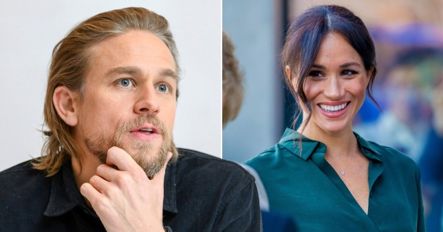 Charlie Hunnam wants to star in movie with Meghan Markle, and we'd definitely watch it