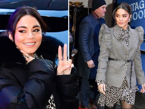 Newly single Vanessa Hudgens shrugs off Austin Butler split with stylish appearance in New York