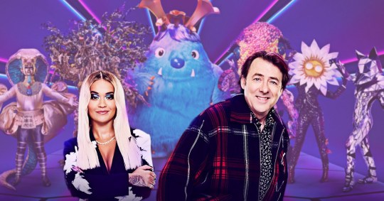 Rita Ora and Jonathan Ross The Masked Singer