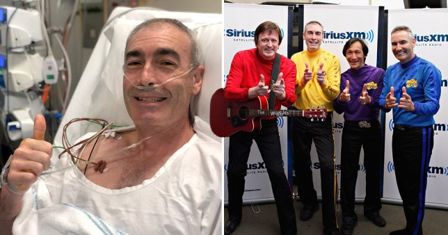 The Wiggles and Greg Page