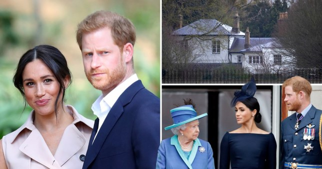 Harry and Meghan to drop HRH titles and repay Frogmore funds