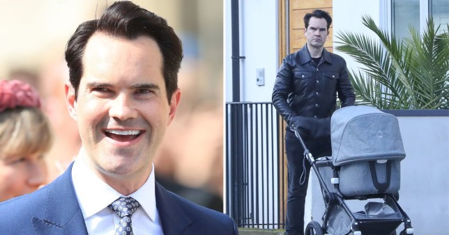 Jimmy Carr Pushes Mystery Pram During Stroll To Estate Agents Metro News In 2004 carr senior was arrested and accused of harassing jimmy and his brother colin. jimmy carr pushes mystery pram during