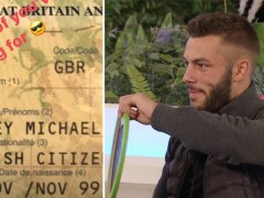 Love Island's Finley Tapp's passport proves he really is 20 and we're shook