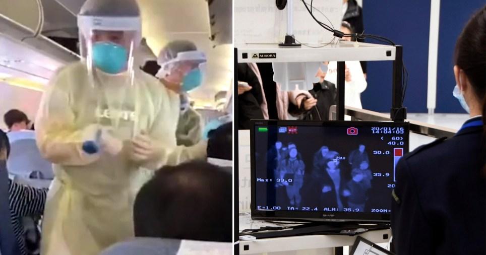Wuhan coronavirus screening