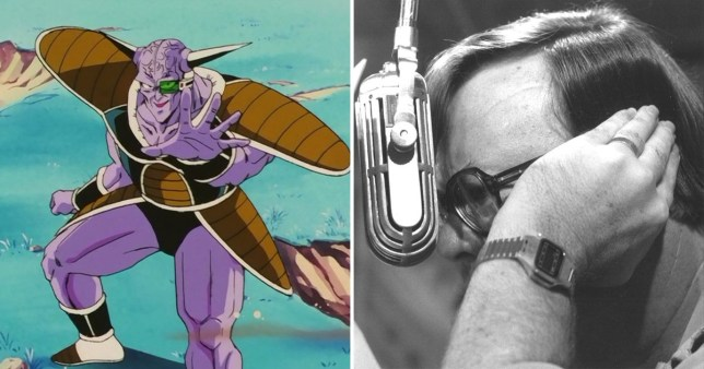 Caption: Dragonball Z narrator and Ginyu actor Brice Armstong dies