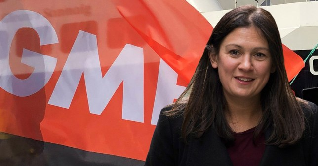 Lisa Nandy has the backing of the GMB union