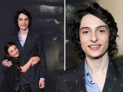 Stranger Things' Finn Wolfhard owns red carpet alongside co-stars at The Turning premiere