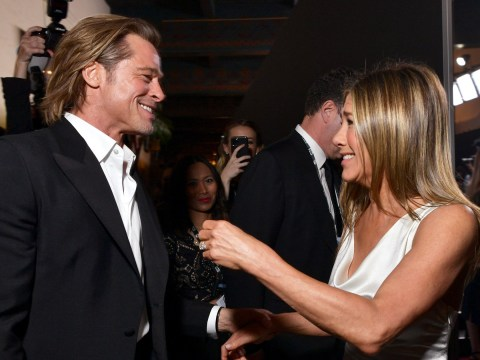 Brad Pitt and Jennifer Aniston 'just want the best for each other' but they're 'just friends'