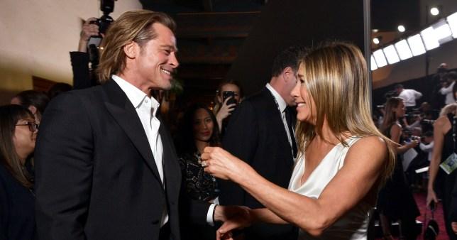 Brad Pitt and Jennifer Aniston