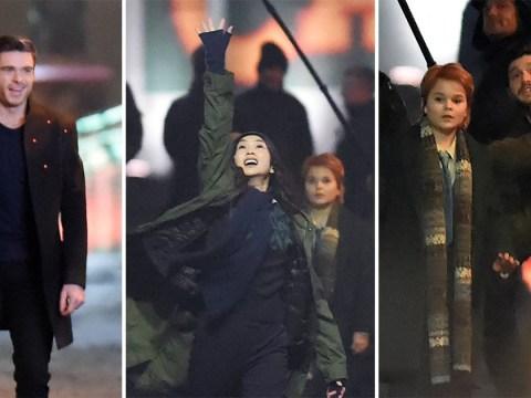 Gemma Chan channels her inner superhero to film dramatic scenes for Marvel movie The Eternals alongside Richard Madden and Kit Harington