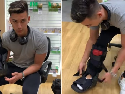 Influencer who faked an injury to get upgrade criticised for being a 'fraud'