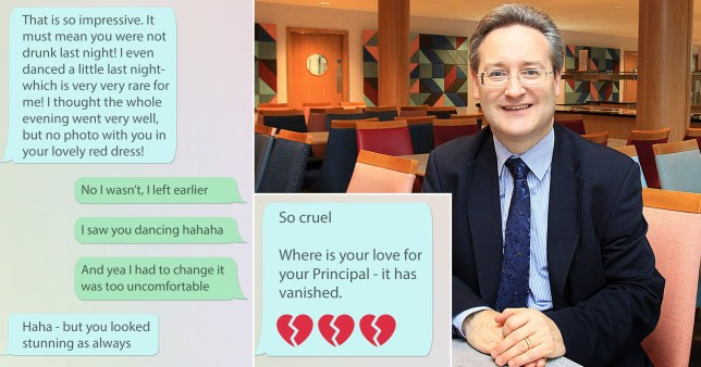 Composite photo of Toby Belfield and messages