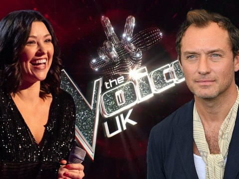 Jude Law's ex Cat Cavelli impresses Meghan Trainor as she takes on The Voice