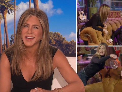 Jennifer Aniston not impressed with Friends fan who declares Ross as their favourite character
