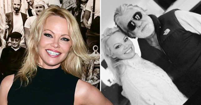 Pamela Anderson shares first photo with new husband Jon Peters after surprise wedding