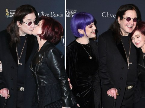 Ozzy Osbourne and Sharon Osbourne are stronger than ever as they share kiss after heartbreaking Parkinson's diagnosis