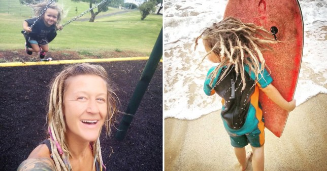 Mum who let three-year-old have dreadlocks accused of neglect and appropriation