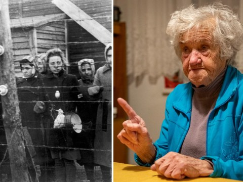 Nazi death camp survivor turns 100 on Holocaust remembrance day