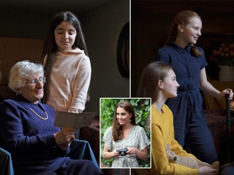 Kate Middleton photographs Holocaust survivors to mark 75th anniversary of liberation