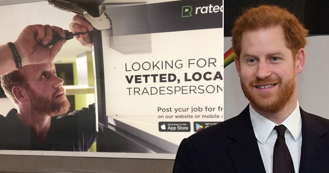 It looks like Prince Harry has got a new job already