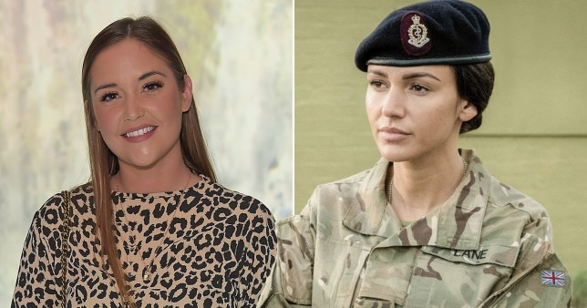 Caption: Jacqueline Jossa to take over from Michelle Keegan in Our Girl