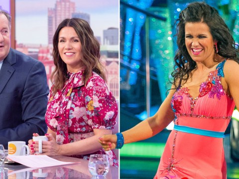 Piers Morgan admits he watches old videos of Susanna Reid on Strictly Come Dancing just to see her bum