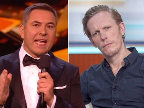 David Walliams cracks awkward Laurence Fox joke at NTAs and viewers are living for it