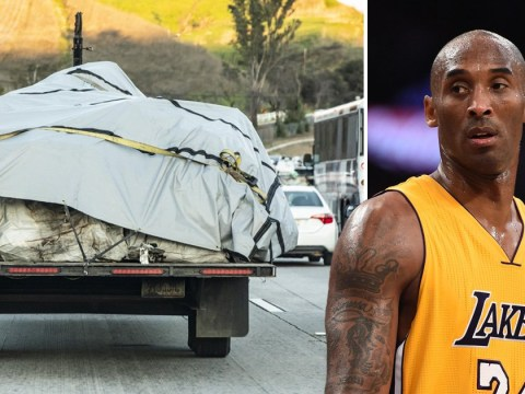 Kobe Bryant's body identified by fingerprints as helicopter wreckage is removed