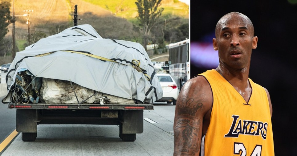 Kobe Bryant\'s body identified by fingerprints as helicopter wreckage is removed