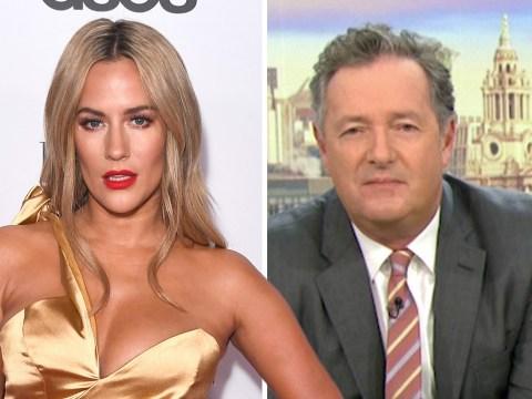 Piers Morgan stands up for Caroline Flack amid 'painful' David Walliams dig at the NTAs