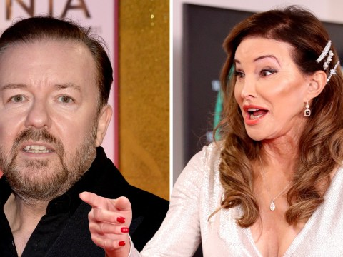 Ricky Gervais denies he was snubbed by Caitlyn Jenner at NTAs: 'She was lovely and gracious'