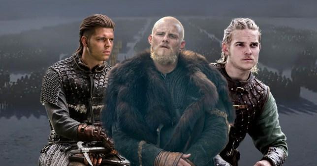 Vikings: Bjorn, Ivar and Hvitserk