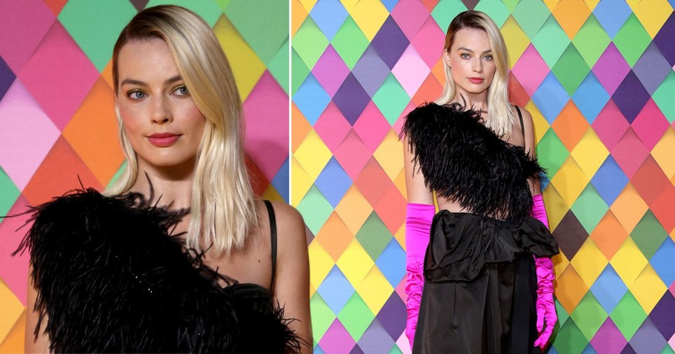 Margot Robbie Birds of Prey premiere