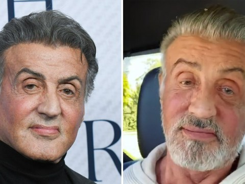 Sylvester Stallone lets white hair shine through and everyone is loving the silver fox's new look