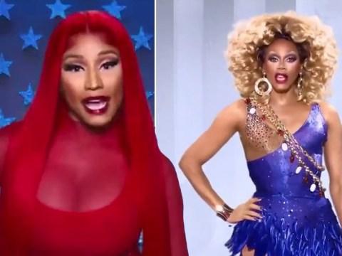 Nicki Minaj confirmed as RuPaul's Drag Race season 12's first A-list guest judge
