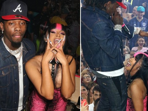 Cardi B and Offset splash the cash while twerking on wild Miami night out