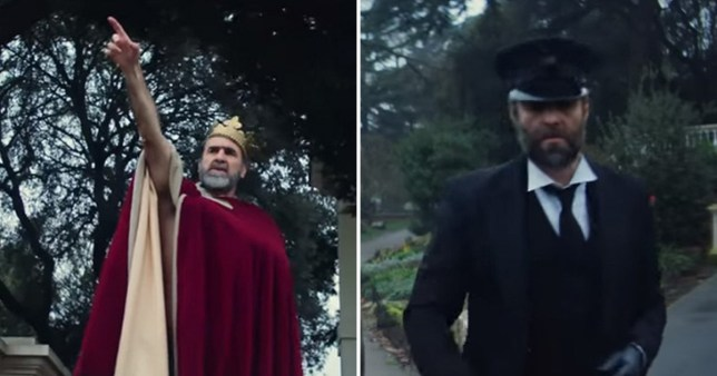 eric cantona in liam gallagher's music video once