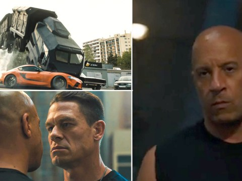 Fast 9 trailer teases epic clash between Vin Diesel and John Cena as 'the family' reunite
