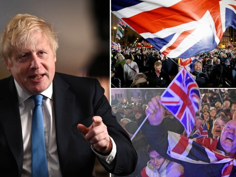 Boris Johnson hails 'dawn of a new era' in address to the nation