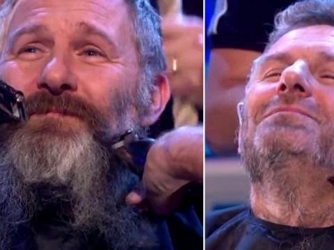 The Last Leg's Adam Hills finally shaves his 'Brexit beard' as Britain leaves the European Union