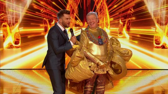 Alan Johnson on The Masked Singer