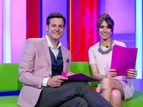 Where is Matt Baker on The One Show?