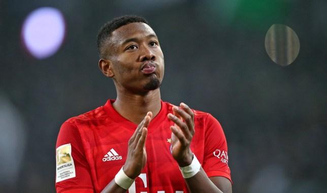 Bayern Munich defender David Alaba is on Chelsea's transfer shortlist